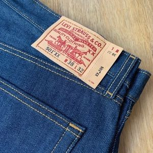 NEW 501 LEVI'S Dark Denim